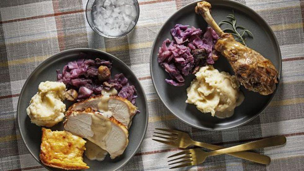 """La mayoría de los platos típicos del Día de Acción de Gracias se preparan con alimentos que eran nativos del llamado """"Nuevo Mundo""""."""